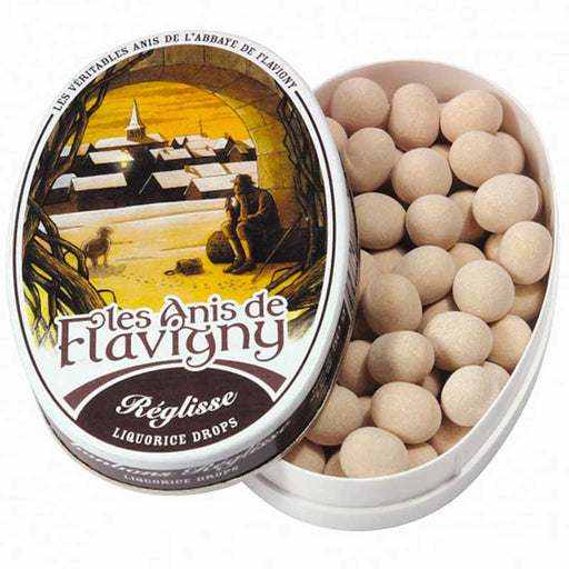 Les Anis de Flavigny Licorice Flavored Anise Candy 1.7 oz. (50g)