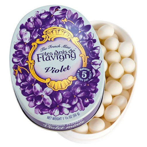 Anis de Flavigny Violet Flavored Anise Candy 1.7 oz. (50 g)