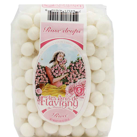 Les Anis de Flavigny Rose Mints Bag 8.8 oz. (250 g)