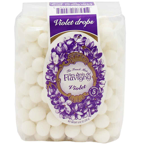 Les Anis de Flavigny Violet Flavored Anise Candy 8.8 oz. (250 g)