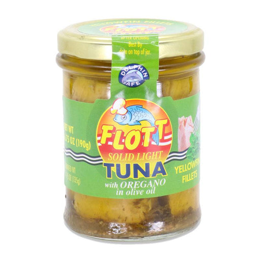Flott Yellowfin Tuna with Oregano and Olive Oil, 6.75 oz (190 g)
