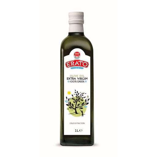 Erato Extra Virgin Olive Oil 100% Koroneiki Olives, 1 L