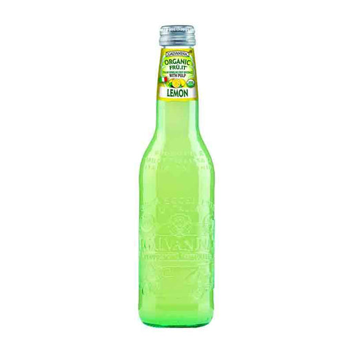 Galvanina Lemon Soda, 12 fl oz (355 mL)