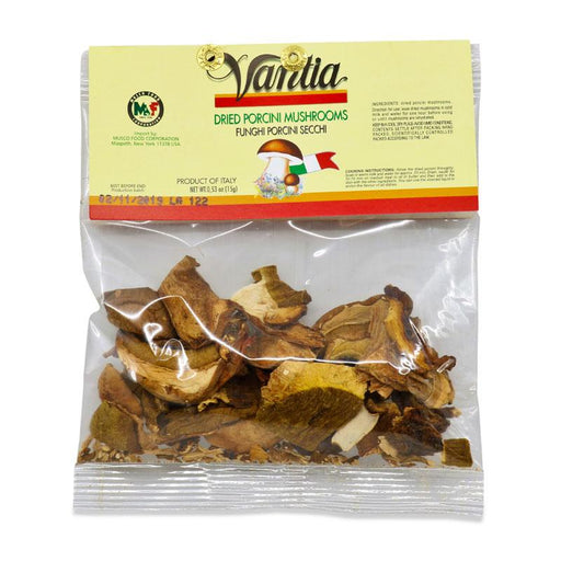 Vantia Dried Porcini Mushrooms, 0.53 oz (15 g)