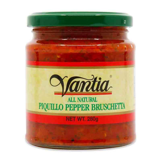Vantia Piquillo Pepper Bruschetta, 10 oz (280 g)