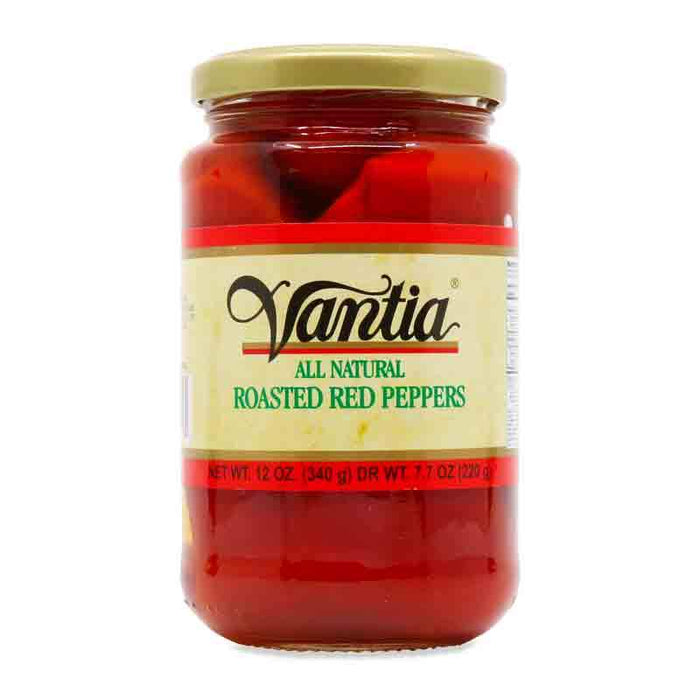 Vantia Roasted Red Peppers, 12 oz (340 g)