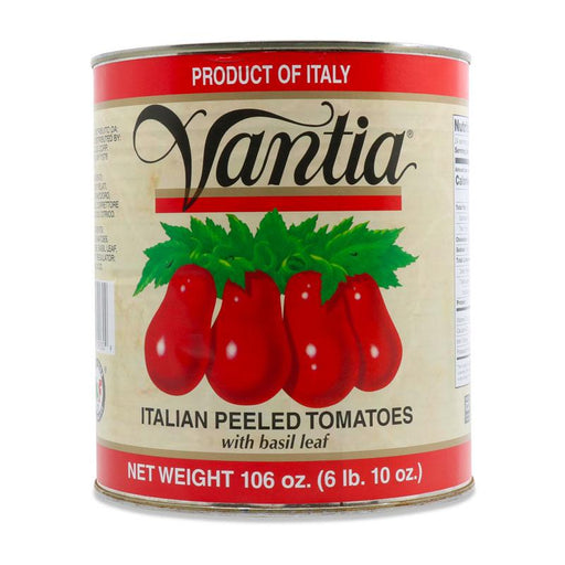 Vantia Italian Tomatoes with Basil, 106 oz (3 kg)