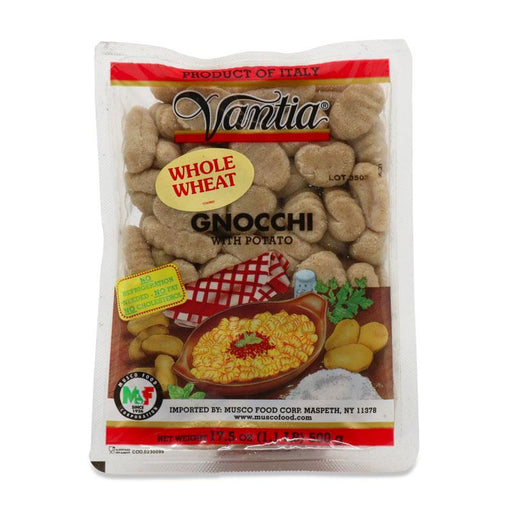 Vantia Whole Wheat Gnocchi, 17.5 oz (500 g)