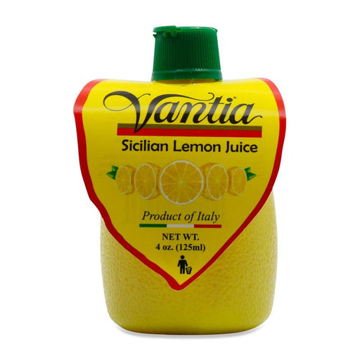 Vantia Sicilian Lemon Juice, 4 oz (125 mL)