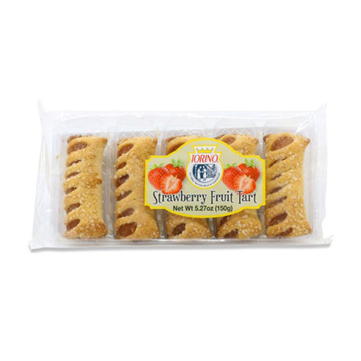 Italian Strawberry Tarts in Flaky Puff Pastry by Torino, 5.27 oz. (150 g)