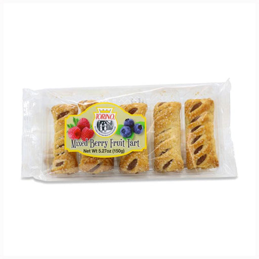 Italian Berry Tarts in Flaky Puff Pastry by Torino, 5.27 oz. (150 g)