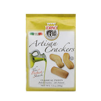 Torino Artisanal Olive Oil Classic Crackers Twists, 7 oz. (200 g)