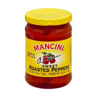 Mancini Peppers, Roasted Sweet Red, 12 oz. (340g)