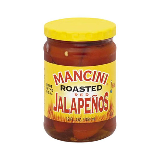Mancini Roasted Jalapenos, 12 oz. (354mL)