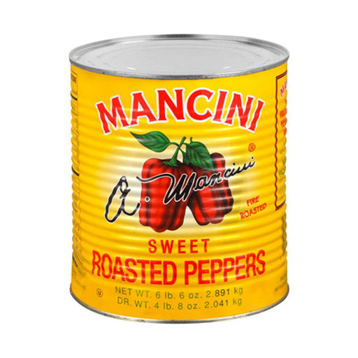 Mancini Peppers Roasted Red, 108 oz. (3.06kg)