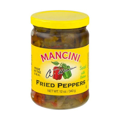 Mancini Peppers Fried with Onions, 12 oz. (340g)
