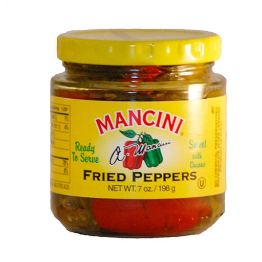 Mancini Peppers Fried with Onions, 7 oz. (198g)