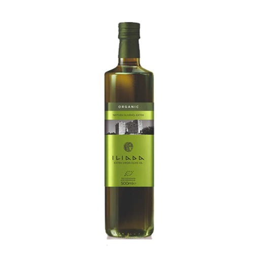 Iliada Kalamata Organic Olive Oil, Green Label 16.9 oz. (500mL)