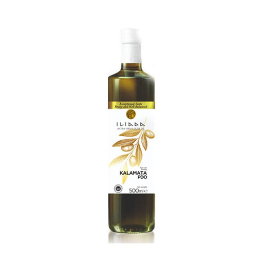 Iliada Kalamata PDO White Label Extra Virgin Olive Oil, 16.9 oz. (500mL)