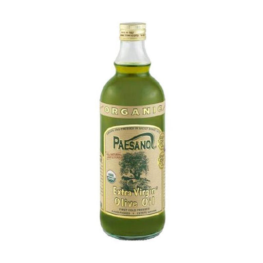 Paesano Unfiltered Organic Extra Virgin Olive Oil, 33.8 oz. (1L)