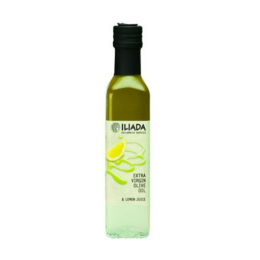 Iliada Olive Oil Lemon Juice Blend, 8.5 oz. (250mL)