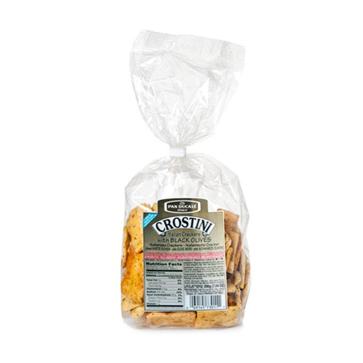 Pan Ducale Crostini with Black Olives, 7.04 oz. (200g)