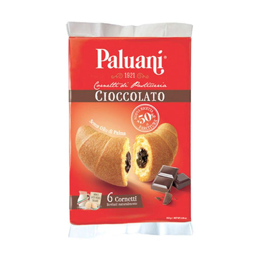 Paluani Chocolate Croissants, 8.8 oz. (252g)
