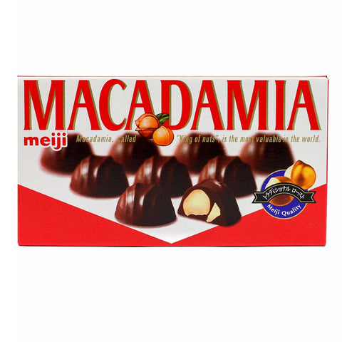 Macadamia Chocolate by Meiji 9 Pcs
