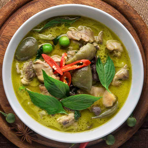 Thai Green Curry (Serves 4)