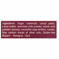 Majani Premium Gianduiotto Chocolate Hazelnut Wedges Box 3.2 oz. (90g)