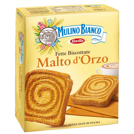 Malted Barley Rusks by Mulino Bianco, 11.1 oz. (315g)