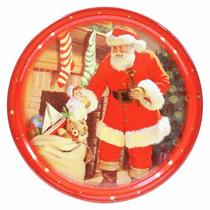 Jacobsens Danish Butter Cookies in Christmas Tin 7 oz. (200g)