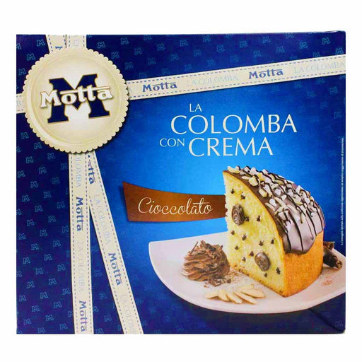 Motta Italian Chocolate Cream Colomba Cake 26.4 oz. (750g)