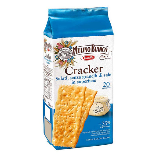 Mulino Bianco Italian Crackers without Coarse Salt 17.5 oz