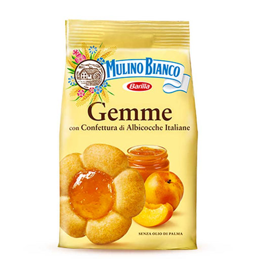 Mulino Bianco Gemme Biscuits with Apricot Jam, 7 oz