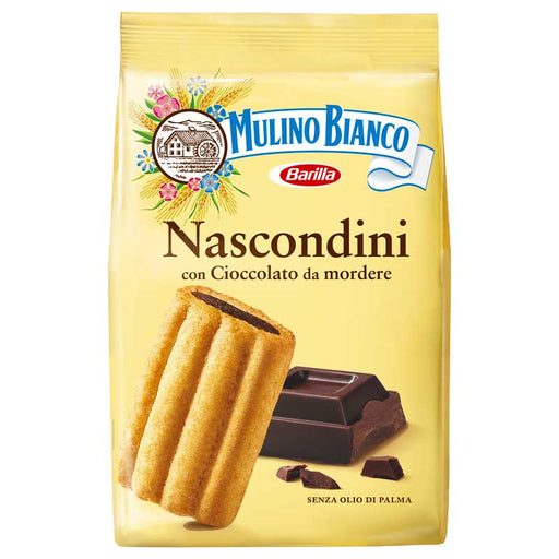 Mulino Bianco Nascondini Cookies with Chocolate, 11.6 oz. (311g)