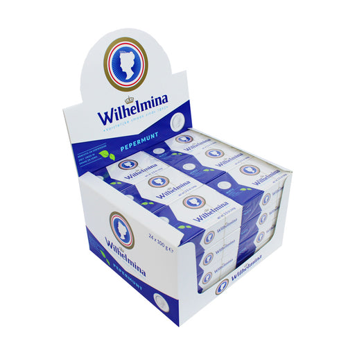 Wilhelmina Peppermint, 24 x 3.5 oz (100 g)