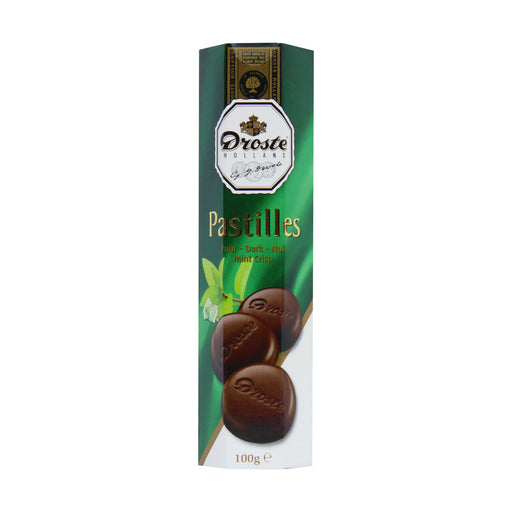 Droste Dark Mint Chocolate Pastilles, 3 oz (86 g)