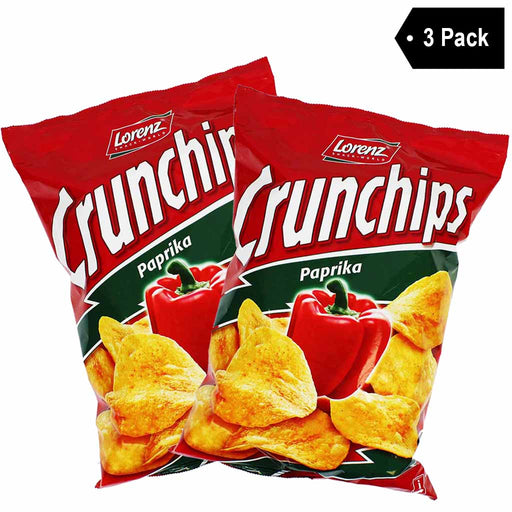 3 Pack Lorenz Paprika Crunchips (6.1 oz x 3)