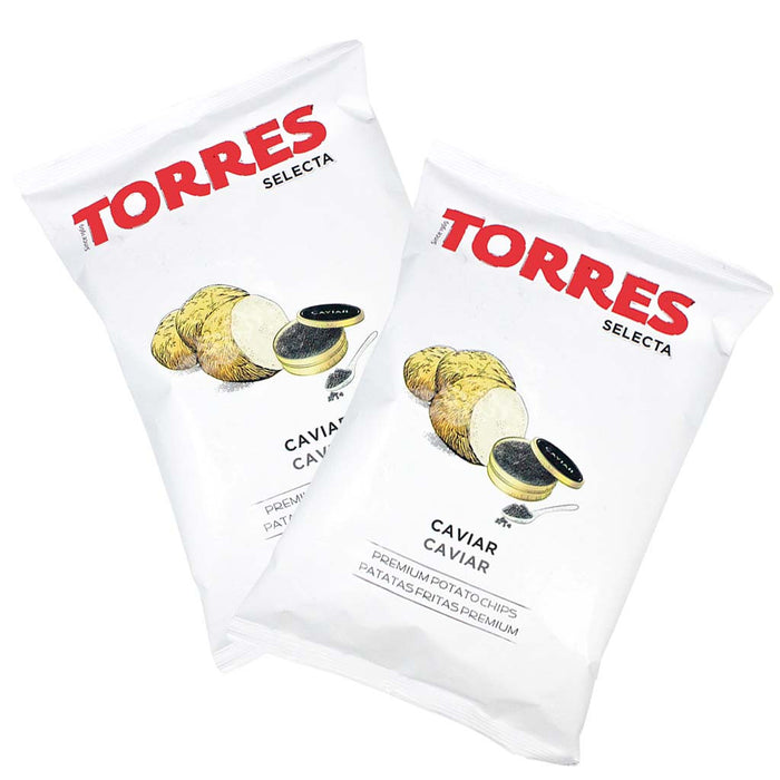 Torres Caviar Potato Chips, 6 Pack (1.41 oz x6)