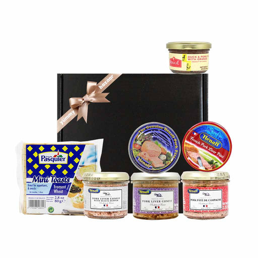 FREE Shipping | French Henaff & Rougie Pate Holiday Gift
