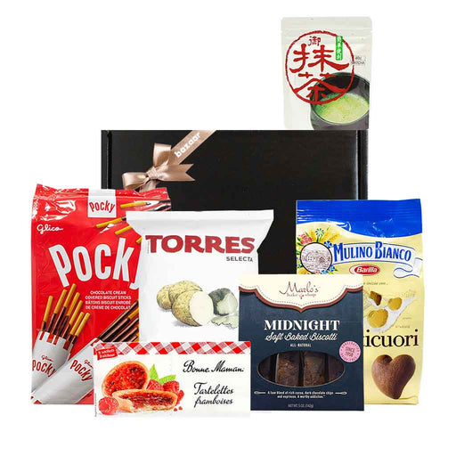 Cookies & Snacks from Around the World Valentines Day Gift