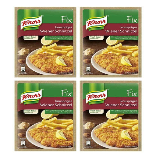 FREE Shipping | 4-Pack Knorr Fix for Crispy Wiener Schnitzel (100g x 4)