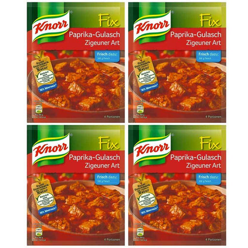 FREE Shipping | 4-Pack Knorr Fix Gypsy Style Paprika Goulash Mix (1.8 oz x 4)