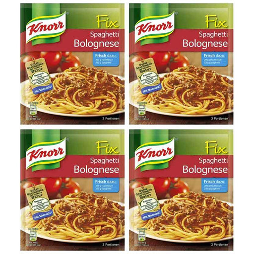 FREE Shipping | 4-Pack Knorr Fix for Spaghetti Bolognese, 1.4 oz. (42g x 4)