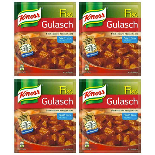 FREE Shipping | 4-Pack Knorr Fix for Goulash (51g x 4)