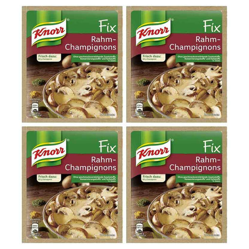 FREE Shipping | 4-Pack Knorr Fix for Mushroom Cream (33g x 4)