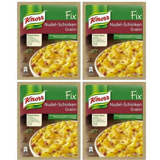 FREE Shipping | 4-Pack Knorr Fix for Gratin with Noodles and Ham (1oz x 4)