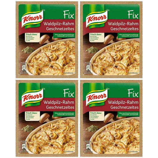 FREE Shipping | 4-Pack Knorr Fix Creamy Forest Mushroom Veal Sauce (1.4oz x 4)