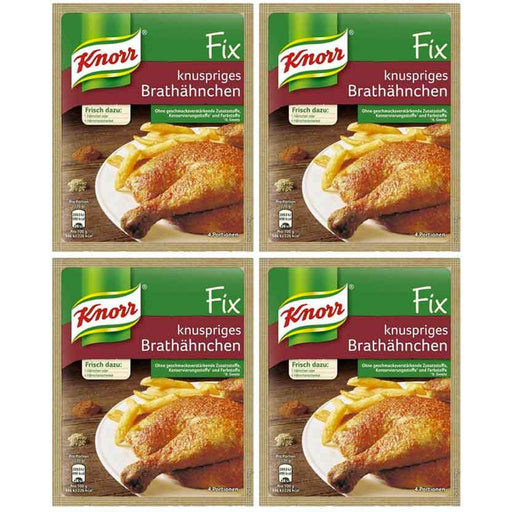 FREE Shipping | 4-Pack Knorr Fix for Crispy Fried Chicken (1oz x 4)